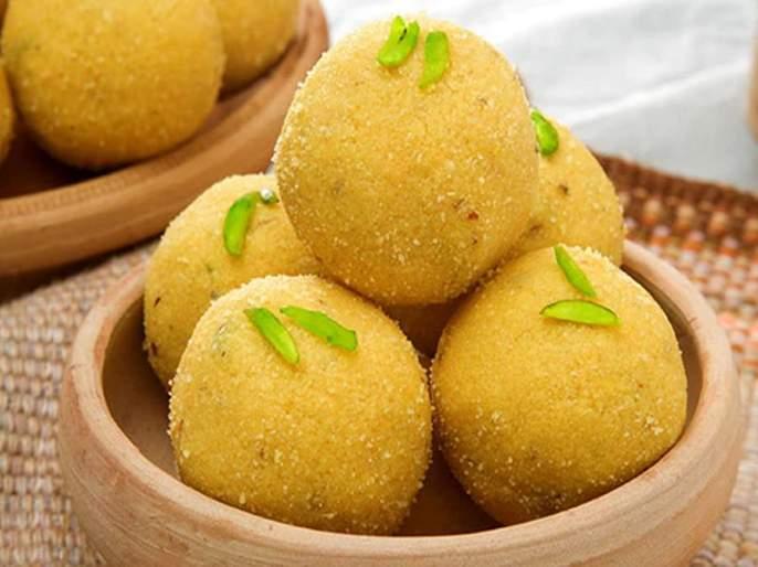 Diwali 2018 recipe of besan laddoo | Diwali 2018 : असे तयार करा झटपट खमंग बेसनाचे गोड गोड लाडू!