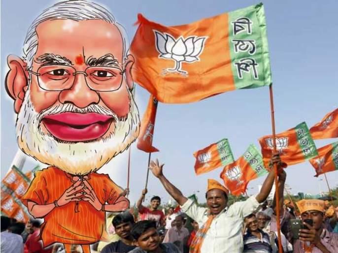 BJP in 20 states in power; NDA state of 67 percent people | देशातील २० राज्यांमध्ये भाजप सत्तेत; ६७ टक्के जनतेवर NDAचं राज्य