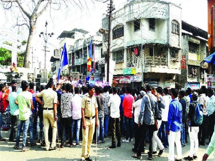 Karjat Market closed, Bhima Koregaon's incident took place | कर्जत बाजारपेठ बंद, भीमा कोरेगाव येथील घटनेचे उमटले पडसाद