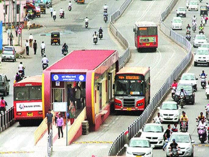 BRTS system in Mumbai | बीआरटीएस प्रणाली मुंबईत राबवाच
