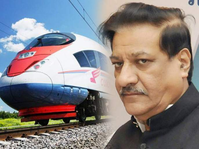congress will scrap bullet train if voted power, says prithviraj chavan | काँग्रेसचा इरादा पक्का; सत्तेवर आल्यास मोदींच्या बुलेट ट्रेनला देणार 'धक्का'