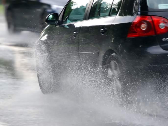 Wind tilt for drivers | वाहनचालकांना हवा लगाम