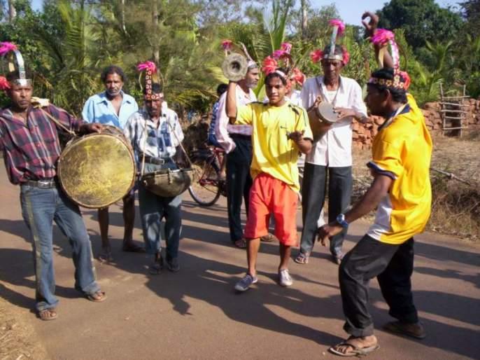Carnival 's still in the old'intruz' | कार्निव्हलच्या धुमधडाक्यात अजूनही केपे गावात जुना 'इंत्रुज'