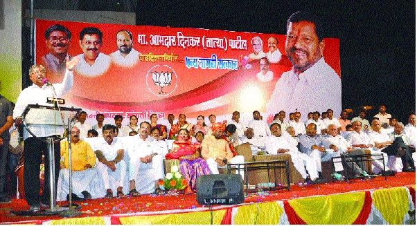 Patangrao, Jayantrao should take care of their own: Chandrakant Patil - Sangli municipal corporation will win BJP - all seats in Vidhan Sabha elections | पतंगराव, जयंतरावांनी आपापलं सांभाळावं : चंद्रकांत पाटील--सांगली महापालिका भाजप जिंकणारच- विधानसभा निवडणुकीत सर्व जागा आमच्याचर्