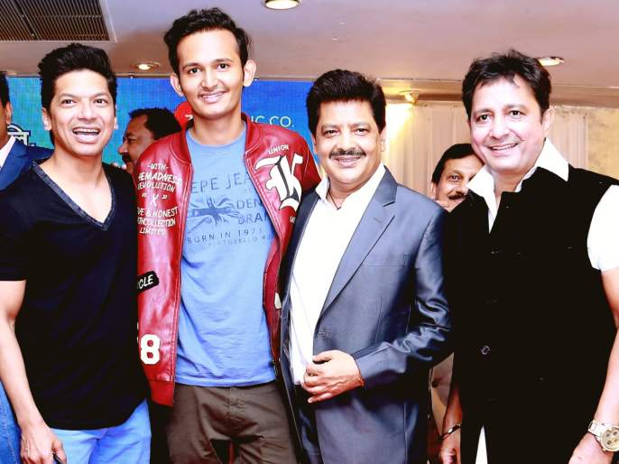 'Raja' came together for Sukhwinder-Shan-Udit | 'राजा' साठी एकत्र आले सुखविंदर-शान-उदित
