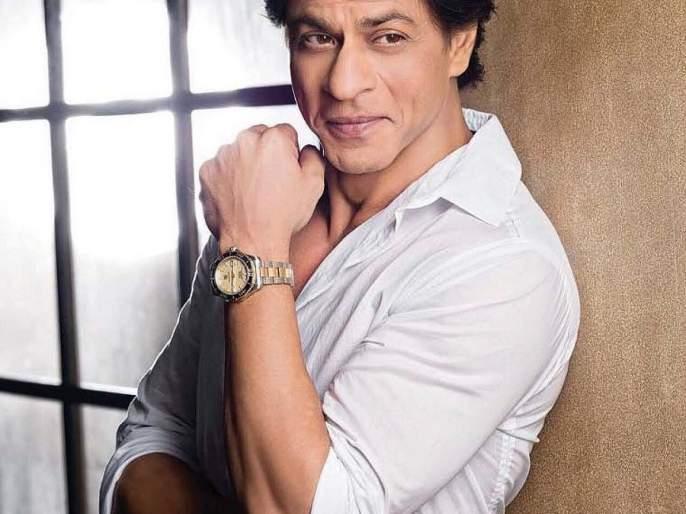 Demanded mobile number! Shah Rukh Khan shot!   चाहत्याने मागितला मोबाईल नंबर! शाहरूख खानने घेतली फिरकी!!