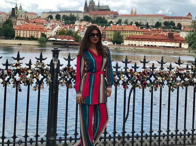 Priyanka Chopard started shooting for the second Hollywood movie!   प्रियंका चोपडाने दुसऱ्या हॉलिवूडपटाच्या शूटिंगला केली सुरुवात !