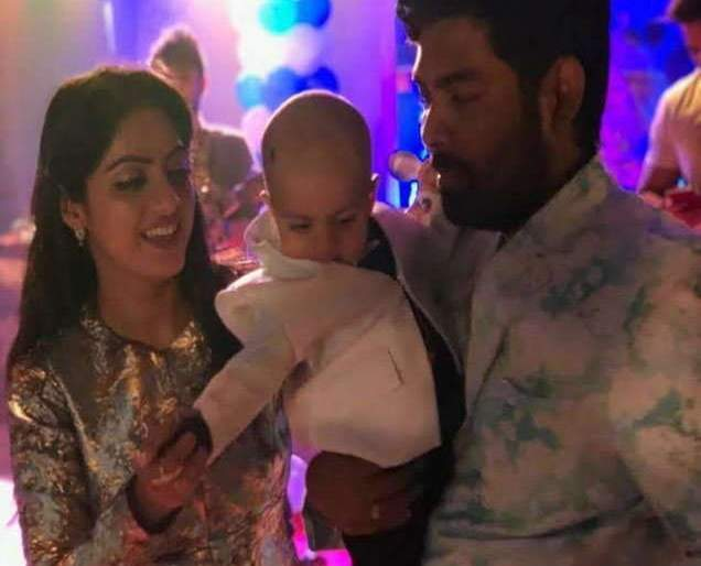 'Sandhya Beindani' celebrates child's first birthday, see photo! | 'संध्या बींदणी'ने मुलाचा पहिला वाढदिवस केला साजरा,पाहा फोटो!