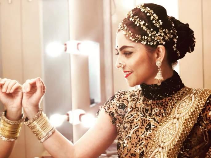 Marathmoli 'Apsara' Sonali Ready to Mingal, but it's a condition .... | मराठमोळी 'अप्सरा' सोनाली रेडी टू मिंगल, मात्र तिची आहे ही एक अट….