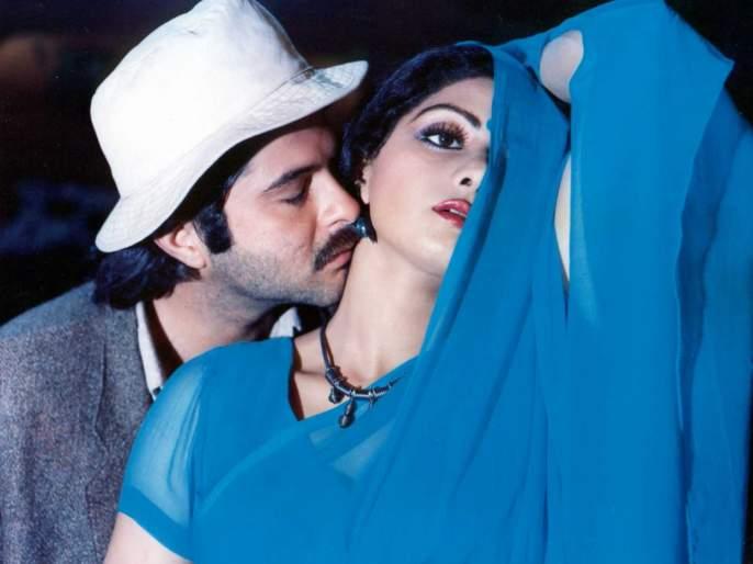 ... so that the song 'Kante Naaatate Din Yehaar' was seen in the hot episode Sridevi! | ...तर यामुळे 'कांटे नहीं कटते दिन ये रात' या गाण्यात हॉट अंदाजात दिसली श्रीदेवी!