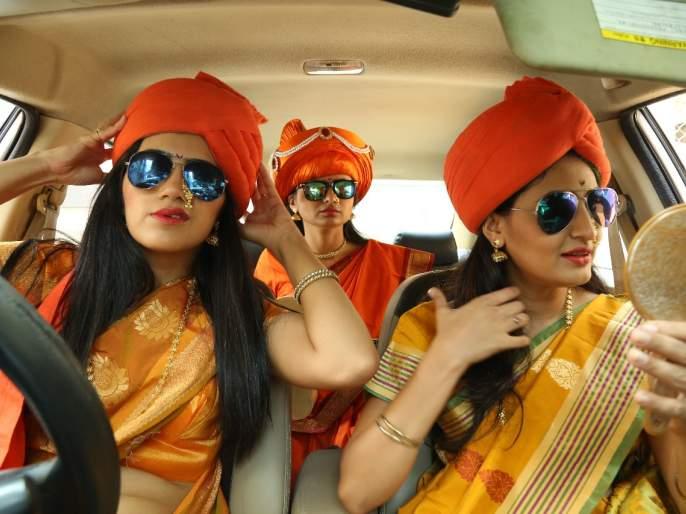 Anokhi Padwa Celebration of Marathi artists   मराठी कलाकारांचे अनोख्या पाडवा सेलिब्रेशन