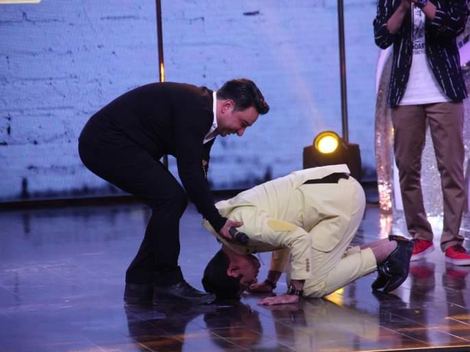 When Choreographer Ahmed Khan took a lavat on the stage of 2 MAD | जेव्हा कोरिओग्राफर अहमद खानने लावली 2 MAD च्या मंचावर लावली हजेरी