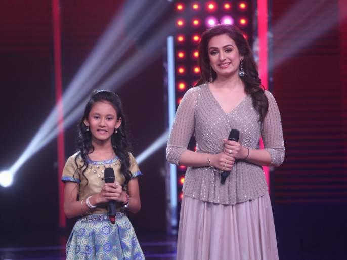 The performer performs with celebrity singers in 'Voice India Kids'   'व्हॉइस इंडिया किड्स'मध्ये सेलिब्रिटी गायकांसोबत स्पर्धक करणार परफॉर्म