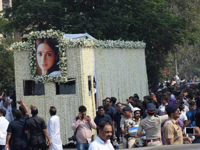 After the death of Sridevi, his Green Aces Society took this decision | श्रीदेवींच्या निधनानंतर त्यांच्या ग्रीन एकर्स सोसायटीने घेतला 'हा' मोठा निर्णय