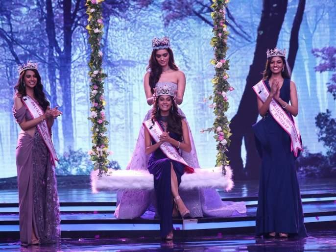 Tamil Nadu's Anuj Vaas won the 'Femina Miss India2018' crown! | तामिळनाडूच्या अनुकृती वासने जिंकला 'फेमिना मिस इंडिया2018'चा ताज!!