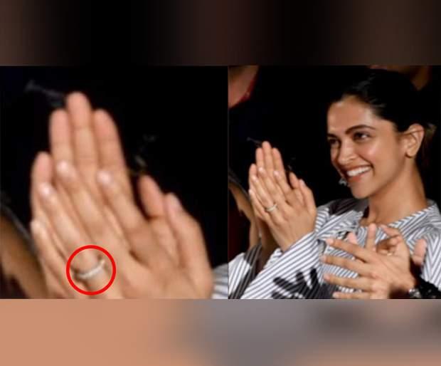 Did Deepika Padukone and Ranveer Singh secretly play Urkalka? | दीपिका पादुकोण आणि रणवीर सिंगने गुपचूप उरकला साखरपुडा ?