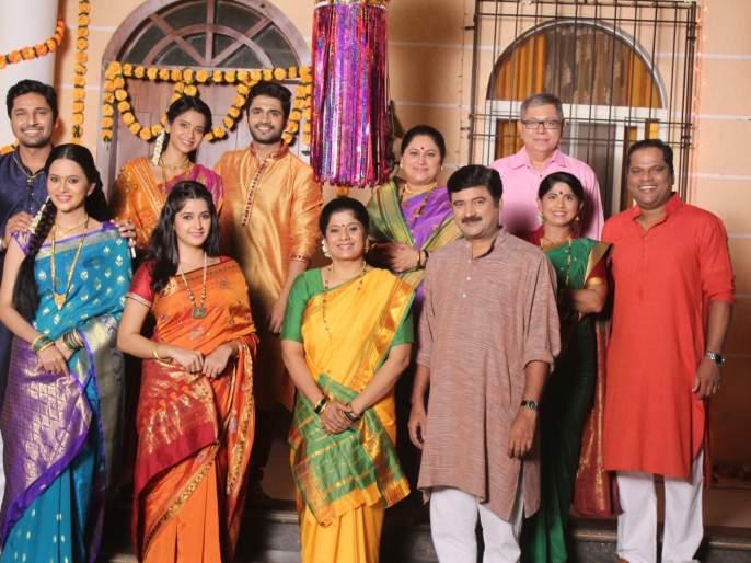 Diwali Celebration in Ghadge & Soon series! | घाडगे & सून मालिकेमध्ये दिवाळीचे सेलिब्रेशन !