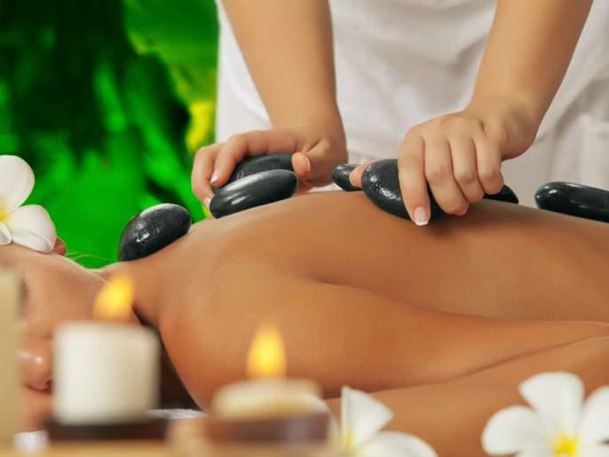 Beauty: Stone Massage Therapy!   Beauty : स्टोन मसाज थेरपीने असे खुलवा सौंदर्य !