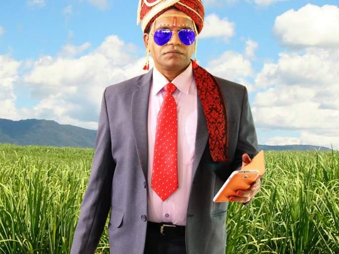 Rishikesh Joshi became involved in work directly from the wedding bro!   लग्नाच्या बोहल्यावरून थेट कामावर रुजू झाला ऋषिकेश जोशी !