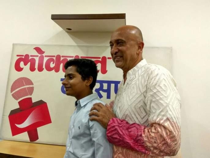 The proud thing for me to play the role of Swami Ramdev: Naman Jain; 'Swami Ramdev: A struggle' team 'Lokmat' in Lokmat | स्वामी रामदेव यांची भूमिका साकारणे माझ्यासाठी अभिमानाची गोष्ट : नमन जैन ; 'स्वामी रामदेव : एक संघर्ष'ची टीम 'लोकमत'मध्ये