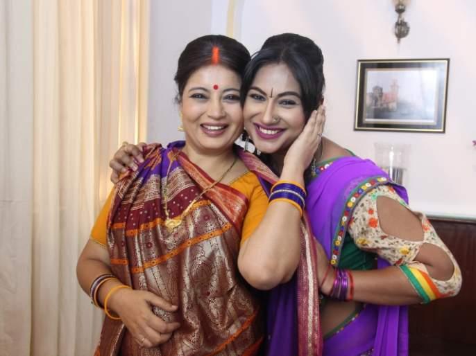 Samata Sagar says two actresses can never be good friends?   समता सागर म्हणते दोन अभिनेत्री कधीच चांगल्या मैत्रिणी होऊ शकत नाही?