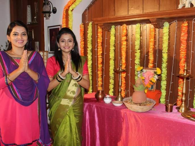 Navaratrotsav in Saraswati series | सरस्वती मालिकेत नवरात्रौत्सव