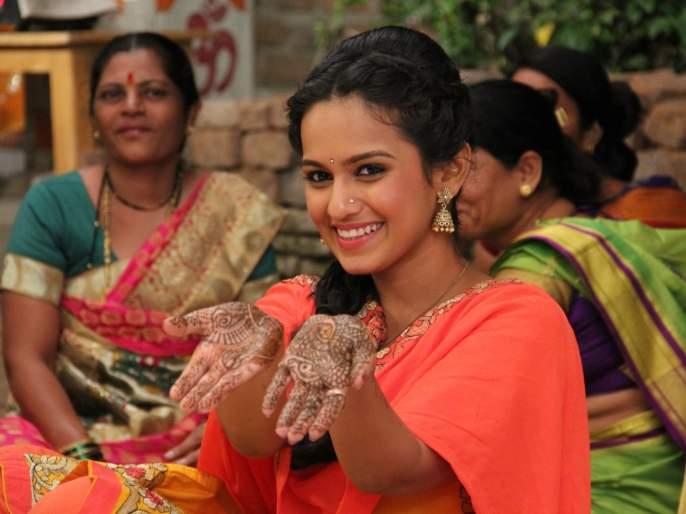 The song that started in the series started with Shital and Ajinkya's wedding preparations | लागीरं झालं जी या मालिकेत सुरू झाली शितल आणि अजिंक्यच्या लग्नाची तयारी