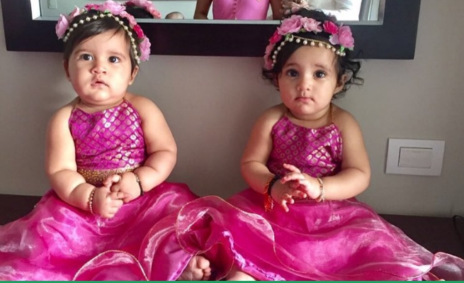 Karanvir Vohra's Cute Twins hit the social media | करणवीर वोहराच्या Cute Twins सोशल मीडियावर हिट