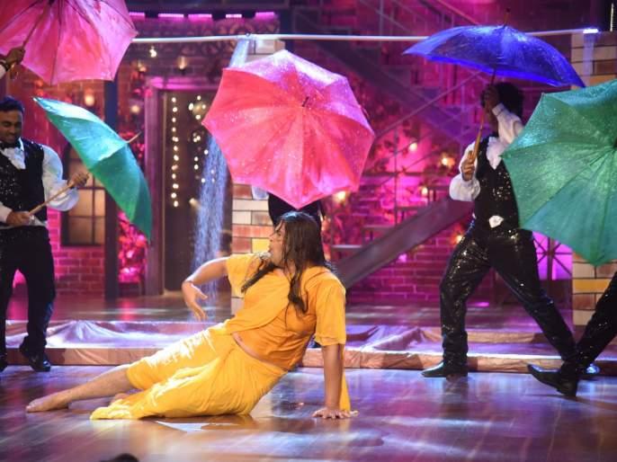Raveena Tandon gets hit due to Drama company Fame Krishna Abhishek | द ड्रामा कंपनी फेम कृष्णा अभिषेकमुळे रवीना टंडनला बसला धक्का