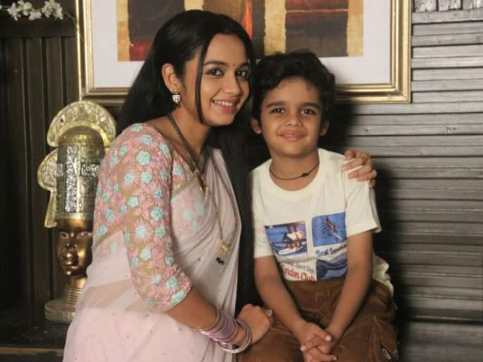 Gondas Aryan Meghaji shines in the series 'Kulaswamini' | गोंडस आर्यन मेघजी 'कुलस्वामिनी' मालिकेत चमकतोय