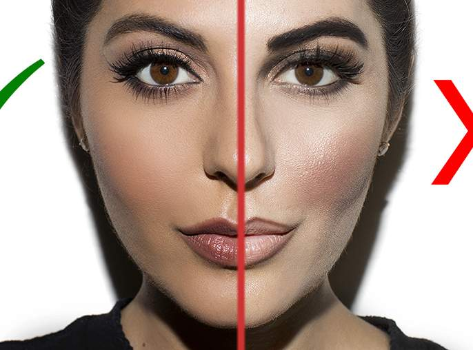 Beauty: If not taken care of while doing makeup ...!   Beauty : मेकअप करताना काळजी घेतली नाही तर...!