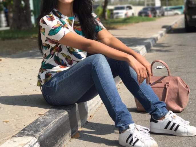 Pooja Sawant's jeans top class class talk on the look! | पूजा सावंतचा जीन्स टॉपमधला क्लासी लूकवर होतेय चर्चा!