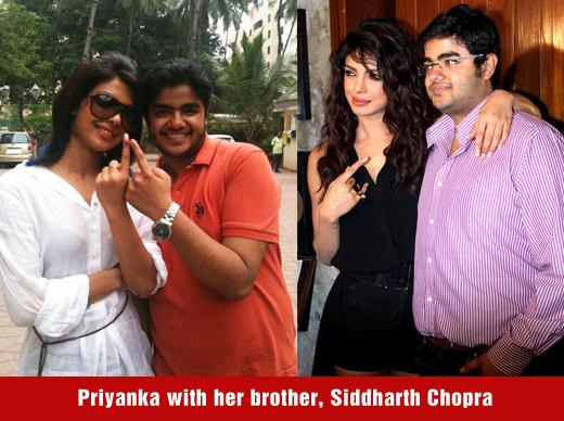 Priyanka's brother has a crime in Pune | प्रियंकाच्या भावावर पुणे पोलिसात गुन्हा