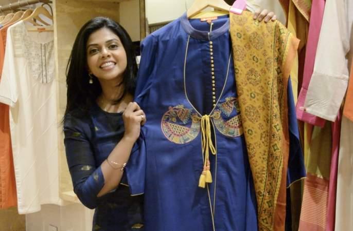 Your beloved Rituja Bagwai has done this Diwali shopping festival! | तुमच्या लाडक्या ऋतुजा बागवेने अशी केली दिवाळीची शॉपिंग धम्माल!