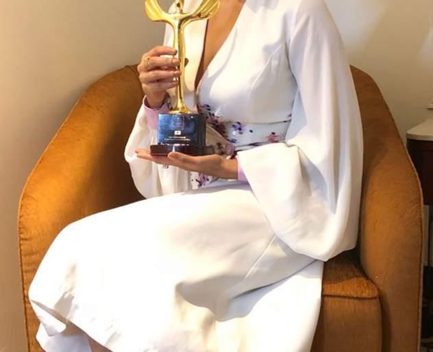 Malayalam film actress Sai Tamhankar has won the 'Ha' award | मराठीमोळी अभिनेत्री सई ताम्हणकरने पटकावला 'हा' पुरस्कार