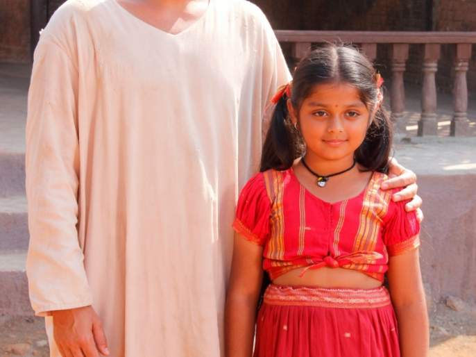 My friendship between Abhiur Sufi and Dhriti Mangeshkar in the series of my sai | मेरे साई या मालिकेतील अबीर सुफी आणि धृती मंगेशकर यांच्यात झाली मैत्री