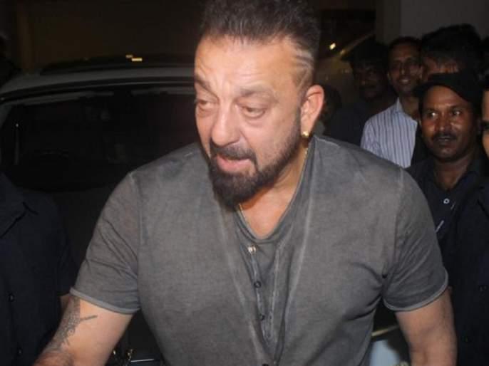 Sanjay Dutt gave to former jailer 'magic ke zapi' !! | संजय दत्तने माजी 'जेलर' ला दिली 'जादू की झप्पी'!!
