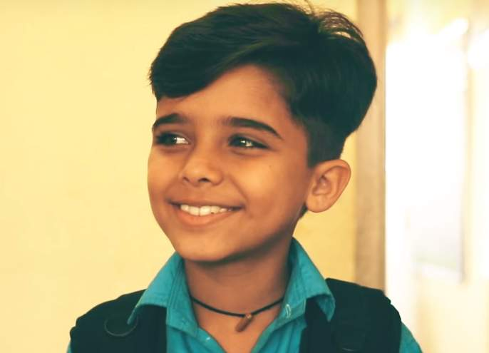 In the role of village gaajali fame sarthak beta punit appearing in this short film   गाव गाता गजाली फेम सार्थक वाटवे शिक्षा या लघुपटात दिसणार या भूमिकेत