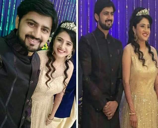 Look at the wife of Shashank Ketkar, who was seen in Princess Luc, | प्रिन्सेस लूकमध्ये दिसली शशांक केतकरची पत्नी, पाहा असा होता अंदाज