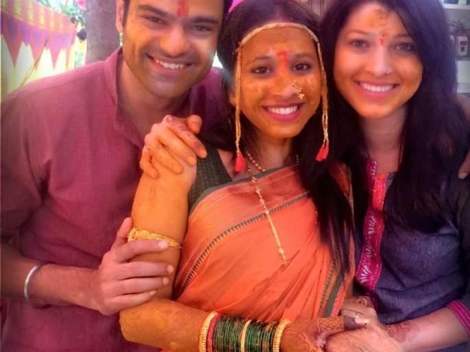 Who knows the Maratha actress who has a taste of turmeric? | हळदीच्या रंगात माखलेली ही मराठमोळी अभिनेत्री कोण ओळखा पाहू?