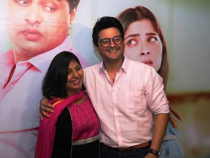 Swapnil Joshi and his wife Lina Joshi launch the title song 'You Will not Know' | स्वप्निल जोशी आणि त्याची पत्नी लीना जोशीने केले 'तुला कळणार नाही' सिनेमाचे टायटल साँग लाँच