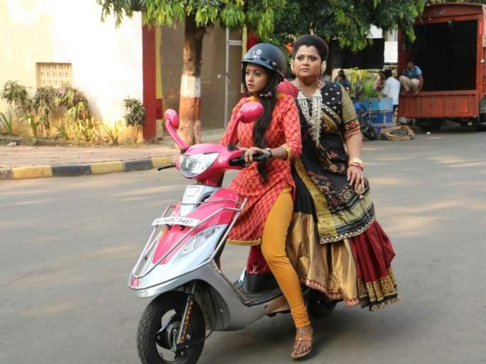 Tanvi Dogra has made a stunt for Rohit Shetty for the 'GG Ma'am | 'जीजी माँ'मालिकेसाठी तन्वी डोग्राने साकारला रोहित शेट्टीप्रमाणे स्टंट!