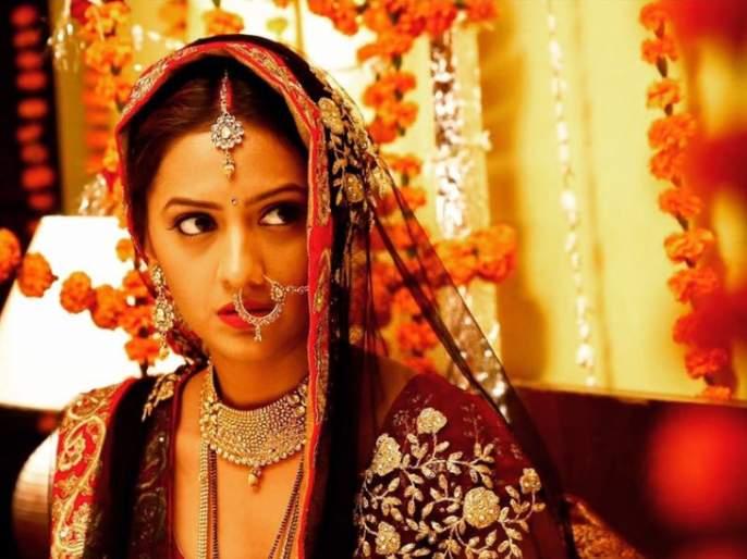 Bride Prabhashri Pradhan? ... ..yahhhhh !!! This photo is being viral on social media | नववधू तेजश्री प्रधान? …..काहीही हं !!! सोशल मीडियावर व्हायरल होतोय हा फोटो