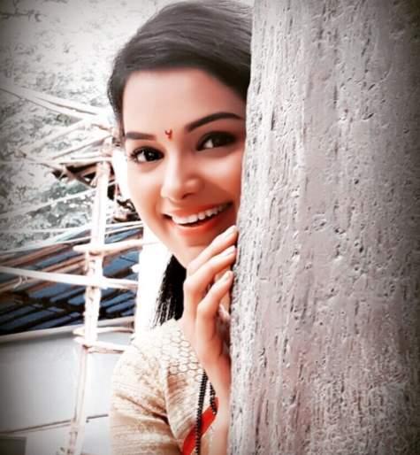 Inspiration is an actress for actress Tithikshaw Tawde   अभिनेत्री तितीक्षा तावडेसाठी ही अभिनेत्री आहे प्रेरणास्थान