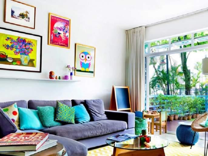 Home decoration will come home! | सजावटीने घराला येईल घरपण !