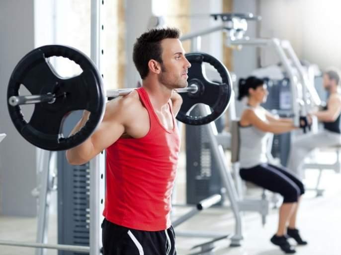 FITNESS: ... so men like to go to the gym! | FITNESS : ...म्हणून पुरुषांना जिम जाणे आवडते !