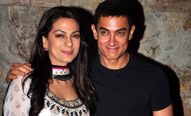 For this reason, Juhi Rice refused to work with Aamir Khan | या कारणामुळे जुही चावलाने आमिर खानसोबत काम करण्यास दिला होता नकार