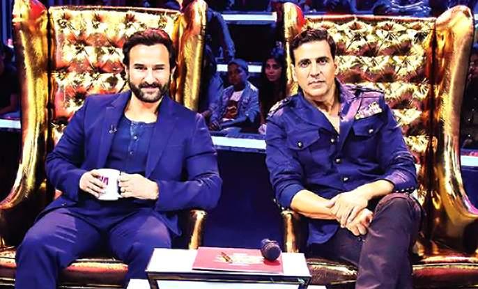 Saif Ali Khan and Akshay Kumar will appear on the same platform | सैफ अली खान आणि अक्षय कुमार दिसणार एकाच मंचावर