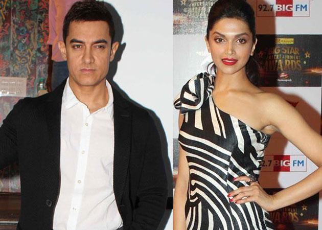 Aamir-Deepika together in 'Thug'? | 'ठग' मध्ये आमिर-दीपिका एकत्र?