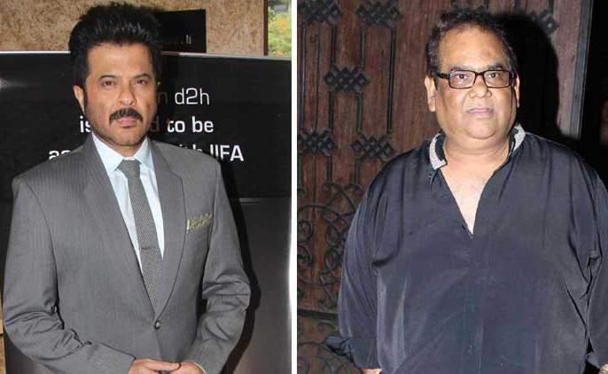 Anil Kapoor and Satish Kaushik came together on the occasion of Fannie Khan | अनिल कपूर आणि सतिश कौशिक फन्ने खानच्या निमित्ताने आले एकत्र